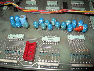Bad Capacitors On Voice Board