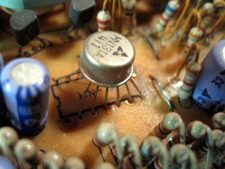 Old Transistor Array In A New Board