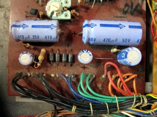 Old Power Supply Capacitors